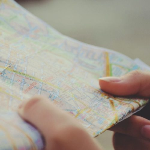 create the perfect customer experience holding map