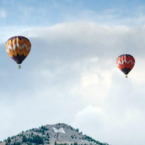 Customer Communications Management Solution hot air balloons
