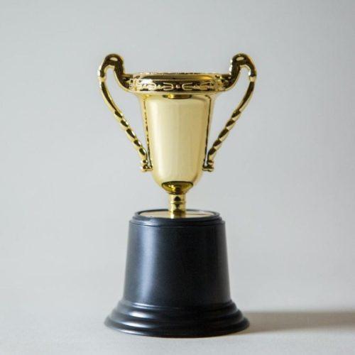 quadient award trophy